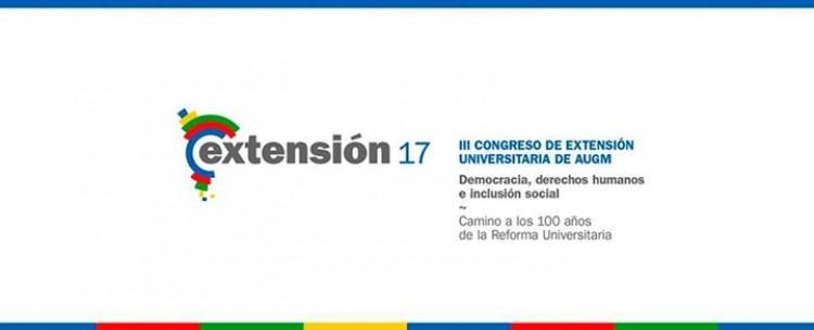 Prórroga a la presentación de ponencias y pósters para el Congreso de Extensión de AUGM