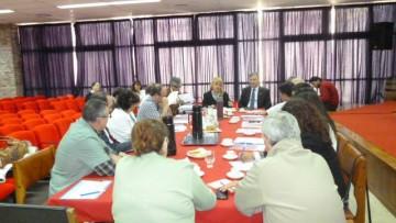 El Consejo Directivo de la FO se reunió con el Rector y Vicerrector