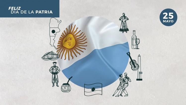 25 de Mayo: Día de la Patria Argentina