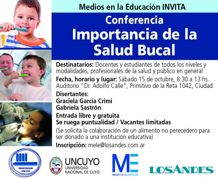 Conferencia sobre la Importancia de la Salud Bucal