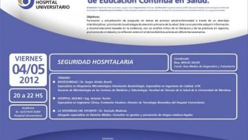 1º CURSO INTERDISCIPLINARIO DE EDUCACIÓN CONTÍNUA EN SALUD