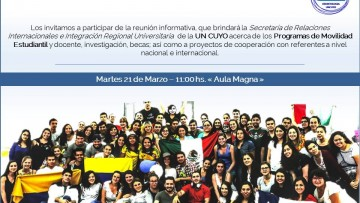 Reunión - Movilidad Estudiantil