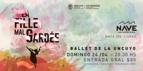"""El Ballet de la UNCUYO presentará la obra """"La Fille Mal Gardée"""" en la Nave Universitaria"""