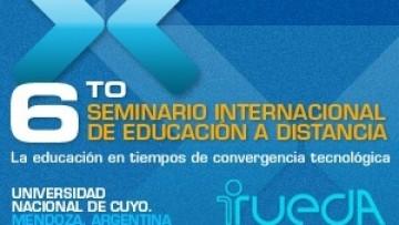 """Se llevará a cabo en octubre el 6to Seminario Internacional de Educación a Distancia """"La educación en tiempos de convergencia tecnológica"""""""