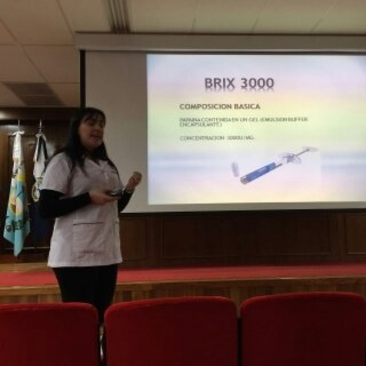 Disertación de la Od. Macarena Soledad VELAZCO