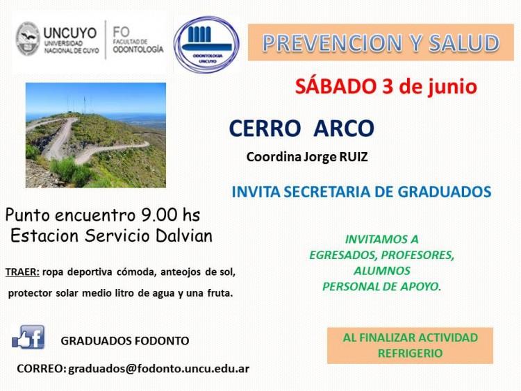 Salida - Cerro Arco