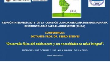 Conferencia del Prof. Dr. Pedro Estévez