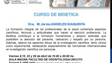 Curso de Bioética