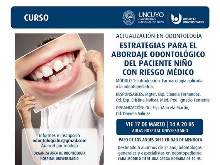 Curso de actualización de Odontopediatría. MODULO 1