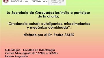 Charla Dr. Pedro Sales