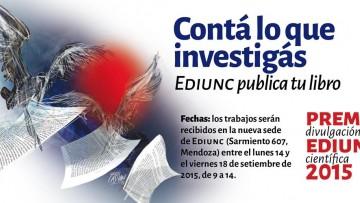 "Premio EDIUNC ""Ida y Vuelta"" 2015"