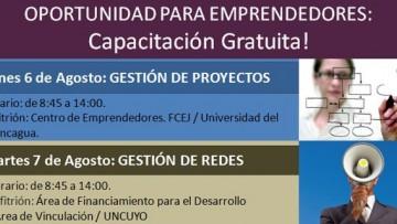 Capacitación gratuita para emprendedores