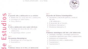 Especialización en Odontología para el Niño y el Adolescente