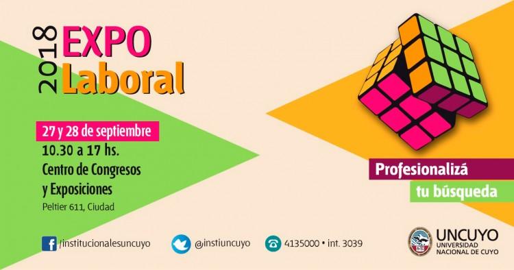 Se acerca la Expo Laboral para estudiantes de la UNCuyo