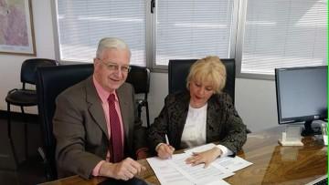 Firma de Acuerdo Intrainstitucional