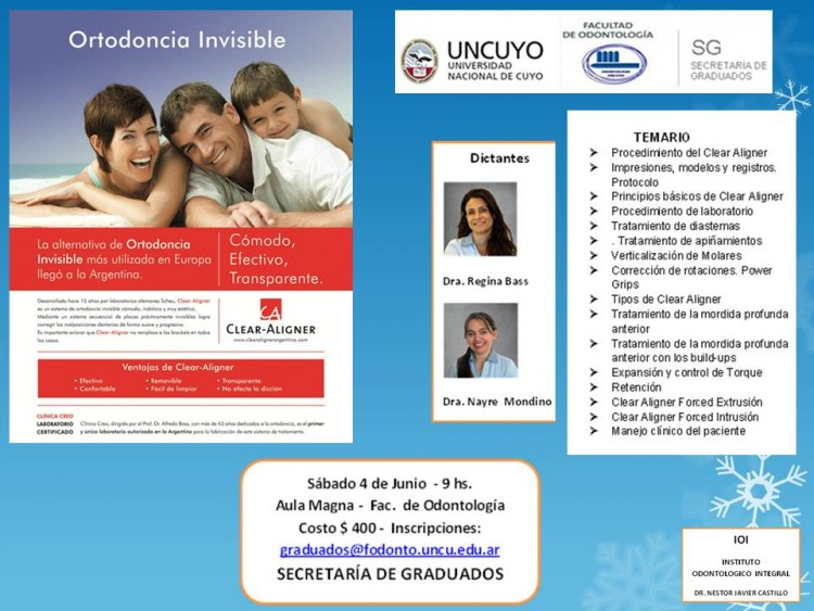 Curso de Ortodoncia Invisible
