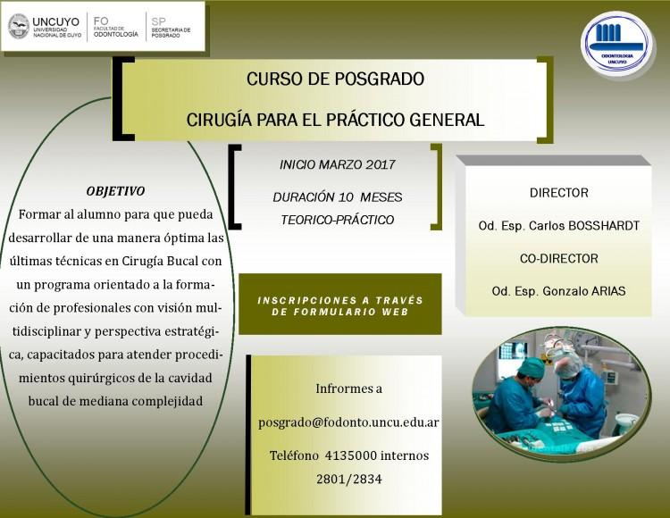 Curso de Posgrado de Cirugia para el Practico General