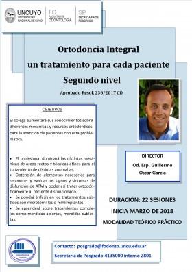 Ortodoncia Integral: un tratamiento para cada paciente, segundo nivel