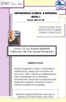 Ortodoncia Clínica e Integral nivel I