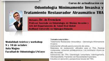Odontología Mínimamente Invasiva y Tratamiento Restaurador Atraumático (TRA)