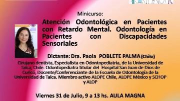 Curso de Atencion odontologica a pacientes con retardo mental