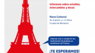 Campus France visita Mendoza para informar sobre oportunidades académicas en Francia
