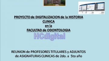 Proyecto de Digitalización de la Historia Clínica