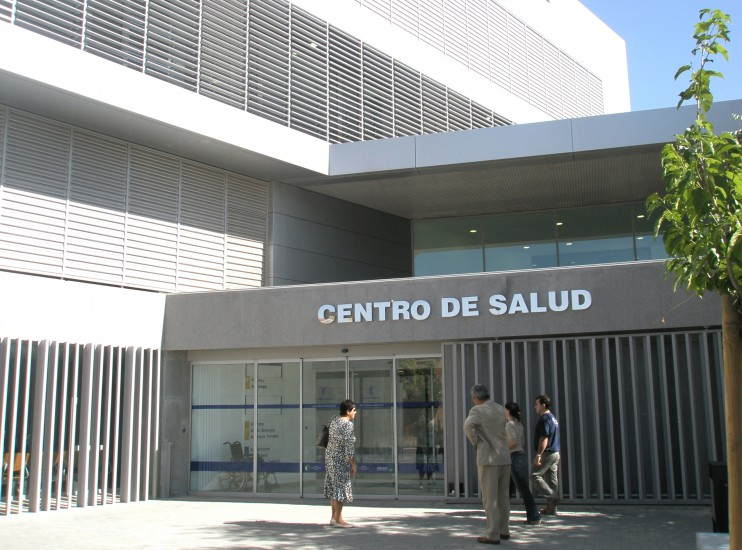 Distribución geográfica de Centros de Salud con Servicio Odontológico en Mendoza, Argentina. Octubre 2020