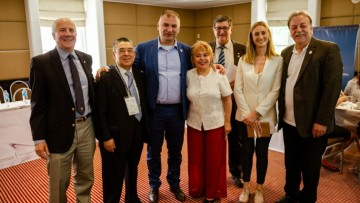 Jornada de trabajo entre decanos UNCUYO y rectores del mundo