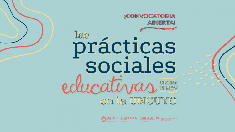 Convocatoria para presentar propuestas de Prácticas Sociales Educativas