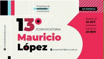 ¡Se encuentra abierta tercera convocatoria de Proyectos Mauricio López!