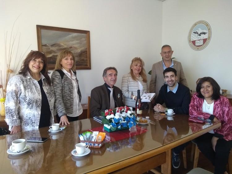 Excelente jornada en la FO, con la visita del Dr. Jo Frencken