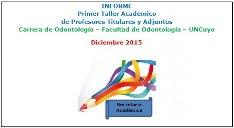 Informe: Taller Académico para Docentes