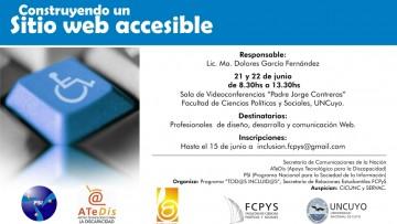 Curso sobre Accesibilidad Web