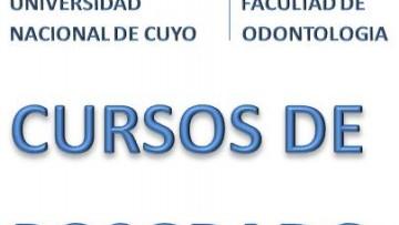 CURSOS DE POSGRADO 1º SEMESTRE 2014