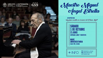 Concierto del Maestro Miguel Ángel Estrella