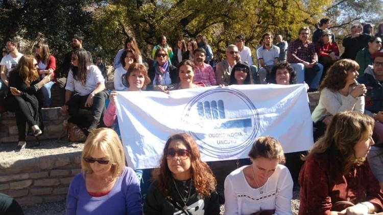 La FO marchó en defensa de la Universidad pública y gratuita, y de la situación salarial docente