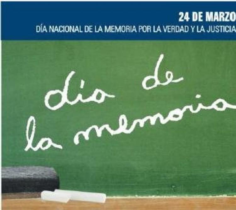 Día de la Memoria por la Verdad y la Justicia.