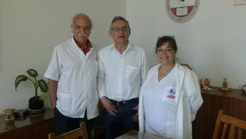 La Facultad de Odontología recibió al Dr.Gallardo de la Universidad Mayor de San Andrés, Bolivia