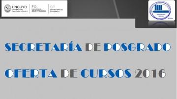 OFERTA DE CURSOS 2016