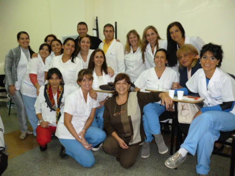 La Facultad de Odontología en el Hospital Universitario