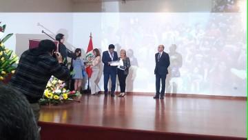 La Decana de la FO, visitó la Asociacion Peruana de Odonto-Estomatología de Pacientes Especiales