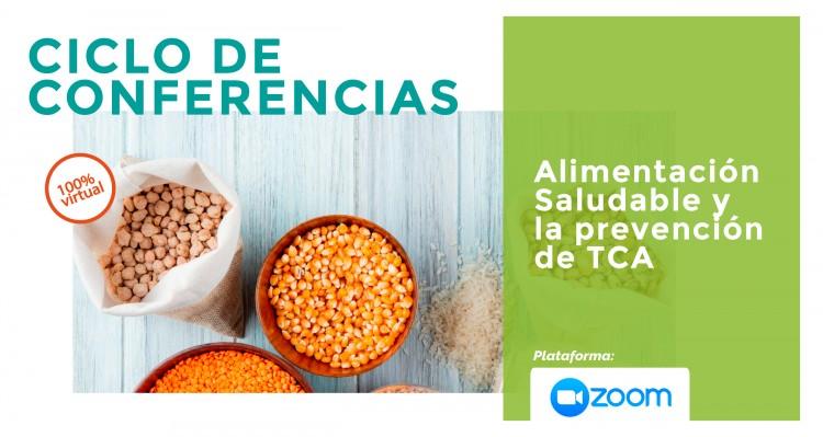 """Ciclo de conferencias: """"Alimentación Saludable y la prevención de TCA"""""""
