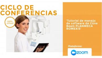 """Ciclo de conferencias: """"Tutorial de manejo de software de Cone  Beam Planmeca Romexis"""""""