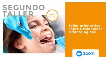 ¡El segundo taller sobre Residencias Odontológicas, se acerca a la FO!