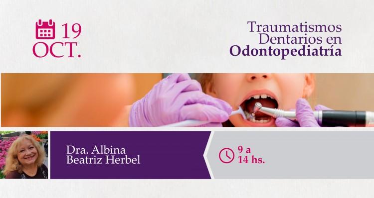 """Se brindará el módulo """"Traumatismos Dentarios en Odontopediatría"""""""