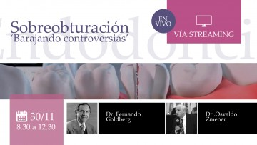 Se realizará una conferencia de Endodoncia vía streaming