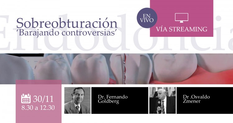 Se realizará una conferencia de Endodoncia vía streaming