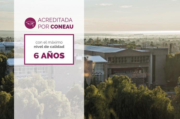 ¡La Facultad de Odontología acreditada por CONEAU por seis años!