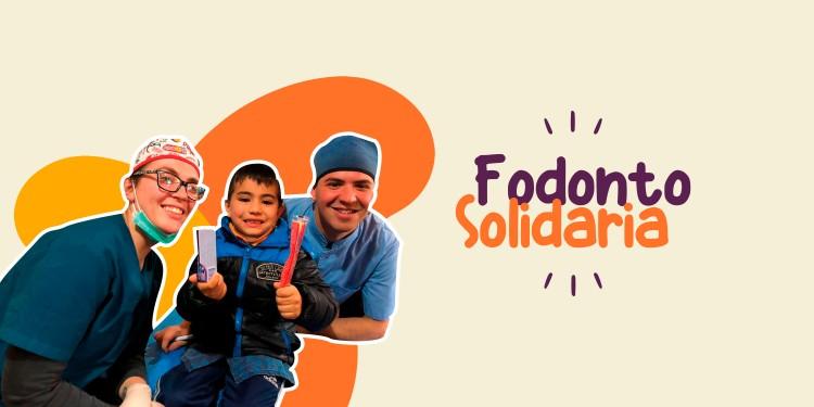 Fodonto Solidaria: Se recolectaron útiles, juguetes y leche.